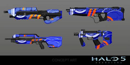 Bracer Weapon Skin Concept by arankin