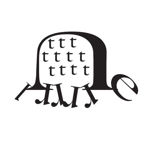 Typography Turtle by hulyen