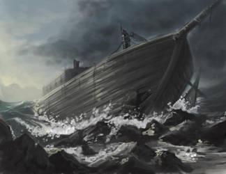 shipwreck by makseph
