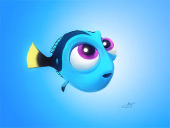 Baby Dory With Bg by makseph
