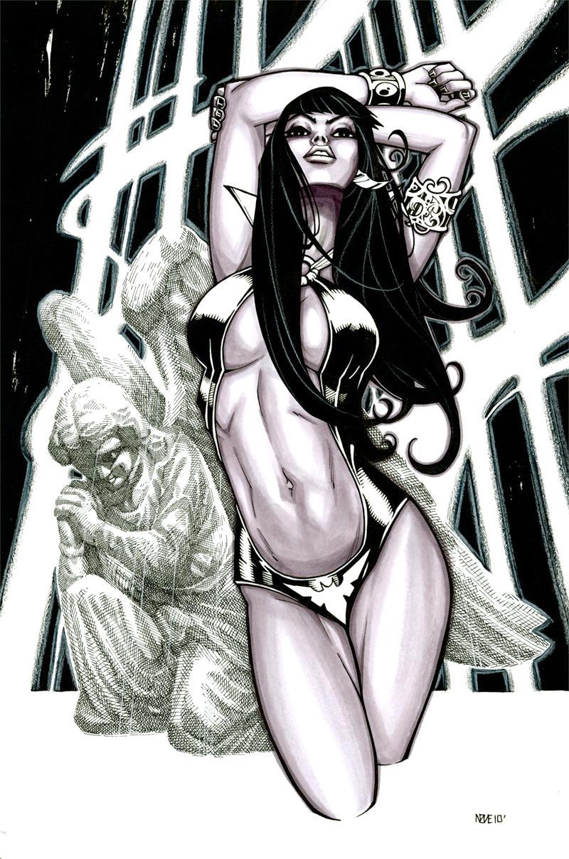 Vampirella by olivernome