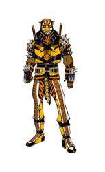 Bronze  Tiger 2.0 by olivernome