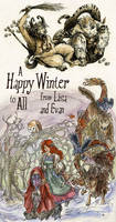 Winterstime Cavalcade by evanjensen