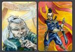 Avatar ACEO Set II by evanjensen