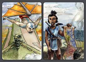 Avatar ACEO Set III by evanjensen