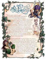 Faery Pages I by evanjensen