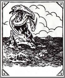 Spire Wyrm by evanjensen