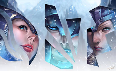 League of Legends Freljord Tryptic by ProjectVirtue