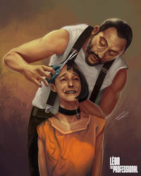 Leon The Professional - Time For A Haircut by ProjectVirtue