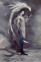 Orochi (commission ) by NicoSaba