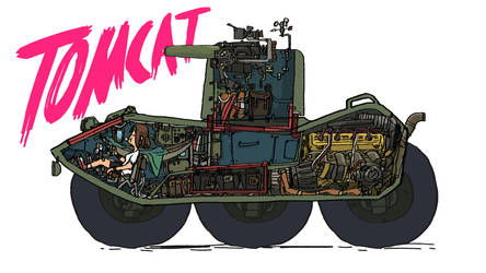 Tomcat Cutaway by bjarnetv