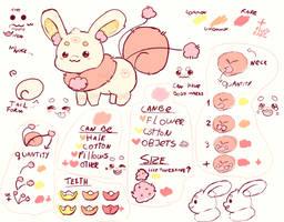 Reference sheet - CS Naanie by Yesirukey