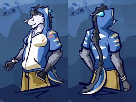 Star Dragon coat by Vent-Kazemaru