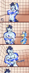 Conserve water with a two party shower by Vent-Kazemaru