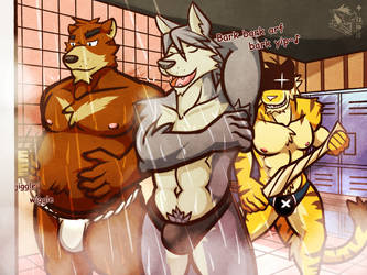 Shower guys by Vent-Kazemaru