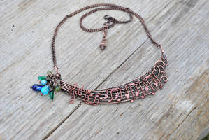 'Nobody's Perfect' Necklace by twistedjewelry