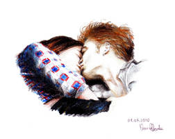 Vampire kiss by YasmineNevola