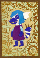 Tea AC Tag FIN by TranquilBell