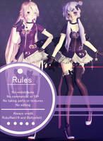[MMD] Lucid IA and Yukari Model DL by RubyRain19