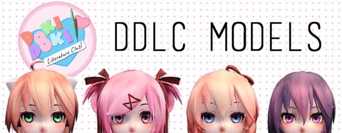[MMD DDLC] Doki Doki Liturature Club model Teaser by RubyRain19