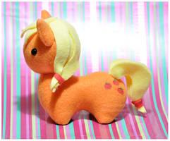 MLP - Itsy-Pony Plush Applejack by mihoyonagi