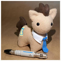 MLP - Itsy Doctor Whooves/Time Turner by mihoyonagi