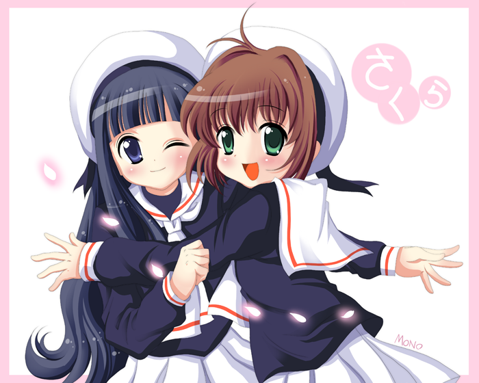 Sakura and Tomoyo by stereo-mono