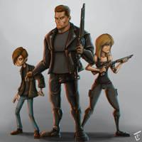 Terminator 2 by bob6kills