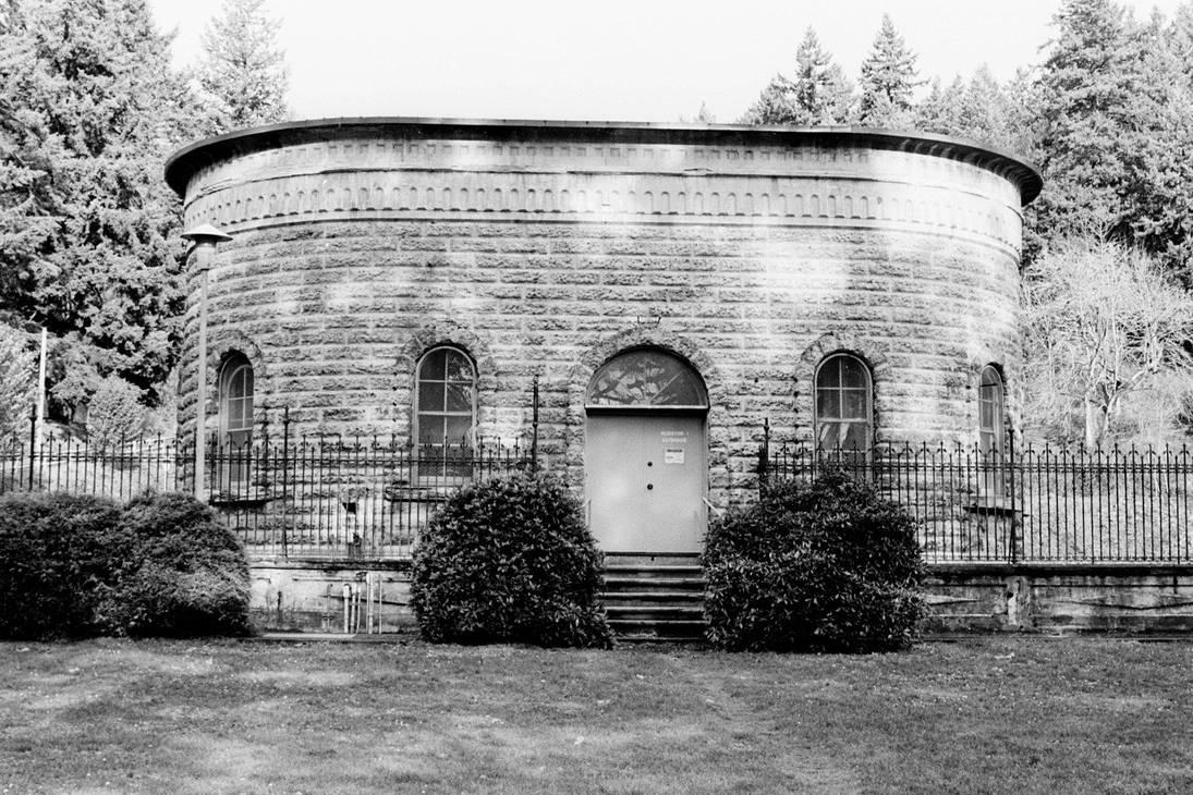 dappled gatehouse by poofygoof