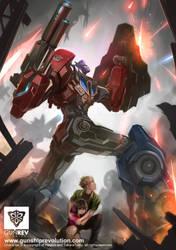 Optimus Prime by GunshipRevolution