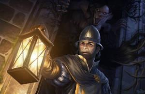 Kubot and City Guard by GunshipRevolution