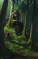 Forest Anitos by GunshipRevolution