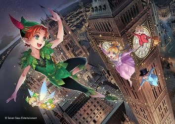 Peter Pan by GunshipRevolution
