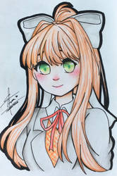 Monika by TheCutestChubbyBear