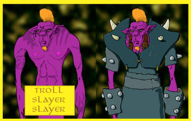 Troll slayer slayer by cama75