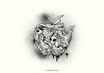 Apple by Harry-Yu