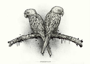 Love bird by Harry-Yu