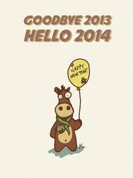 Happy New Year 2014 by Harry-Yu