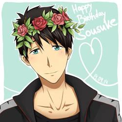 Happy birthday Sousuke! by saru-chikin