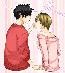 Be my Valentine! by saru-chikin
