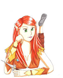 Adrie - Elven Rogue by star-kitten