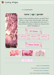 F2U | Sakura Themed Custom 'Intro' Box by Cr1t1calHershey