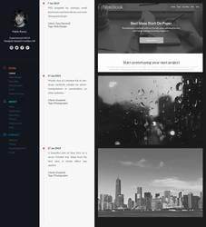 Timeline Portfolio by Leettle1
