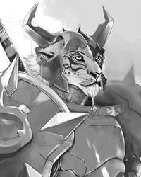 Panther Knight by DJOK3