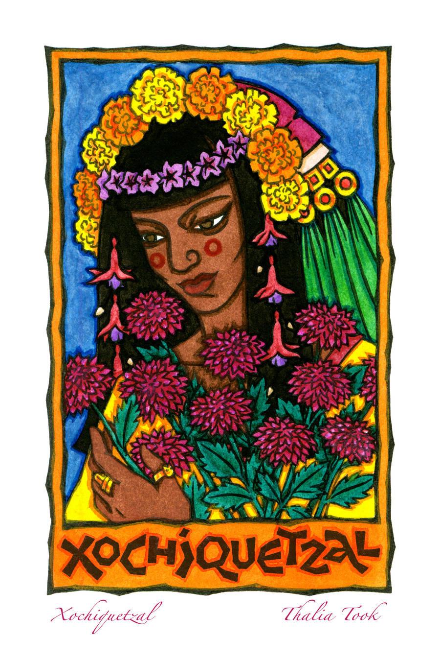 Xochiquetzal by ThaliaTook