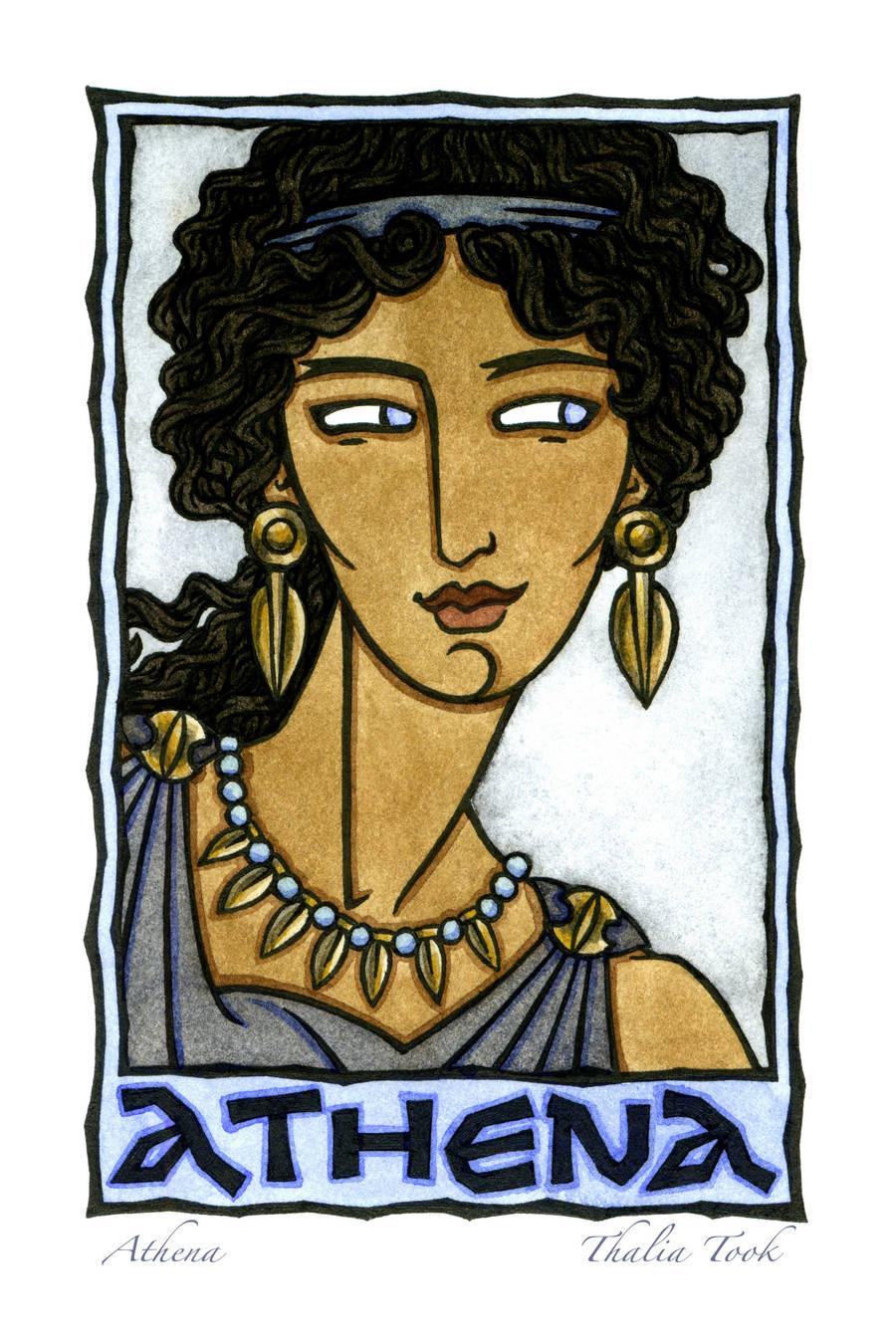 Athena by ThaliaTook