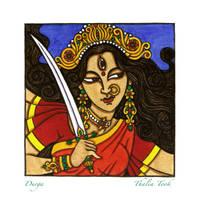 Durga by ThaliaTook