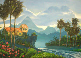 Tropical Island by iizzyy174