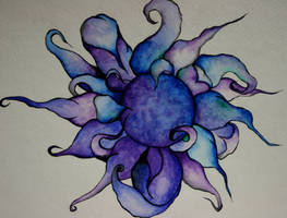 Water Color Flower by noears