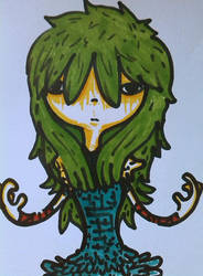 Warrior Girl by Dscapades